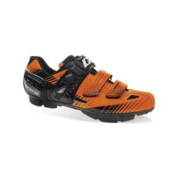 Велотуфли Gaerne G.Rappa,  Размер:42 EUR, Оранжевые,  (3479-008-42)Велообувь<br>Максимально комфортные и технологичные контактные туфли от Gaerne, которые отлично подойдут для кросс-кантри и катания в стиле ол-маунтин. Основное преимущество данной модели – это тонкая жёсткая подошва, выполненная из нейлона и стекловолокна. Протектор подошвы обеспечивает отличное сцепление на самых разных покрытиях. Туфли хорошо дышат, и, кроме того, их легко подогнать по ноге благодаря микрорегулируемым застёжкам. А особые зубчатые стрепы под липучками не позволят им расстегнуться в самый неподходящий момент.<br><br><br><br>ОСОБЕННОСТИ<br><br><br><br>Максимально комфортные контактные туфли<br><br>Двухкомпонентная жёсткая подошва<br><br>Перфорированный язычок<br><br>Микрорегулируемые застёжки<br><br>Особые зубчатые стрепы под липучками не позволят им расстегнуться в самый неподходящий момент<br>