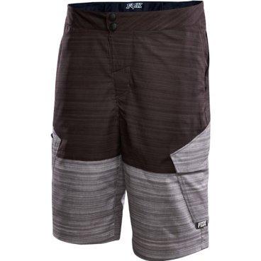 Велошорты Fox Ranger Cargo Print Short Heather Чёрные, Размер: W32 (10323-243-32)Велошорты<br>радиционные шорты от Fox с карманами по бокам. Модель выполнена из плотной эластичной ткани, тянущейся в двух направлениях.<br><br><br><br>ОСОБЕННОСТИ<br><br><br><br>Материал: 100% полиэстер<br><br>Пристежная подкладка<br><br>Регулируемый потайной пояс<br><br>Карманы на молниях<br><br>Цвет: чёрный<br>