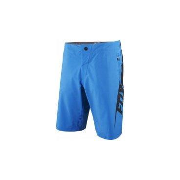 Велошорты Fox Livewire Short, Размер: М (W32), голубой, 12971-002-32Велошорты<br>Полное описание<br>Традиционные облегающие шорты для кросс-кантри и трейлрайдинга. Модель выполнена из мягкой эластичной ткани, тянущейся в четырёх направлениях.<br><br>ОСОБЕННОСТИ<br><br>Материал: полиэстер/спандекс<br>Пристежная подкладка<br>Регулируемый потайной пояс<br>Карманы на молниях<br>Оригинальная графика<br>Выход для наушников<br>Цвет: голубой<br>