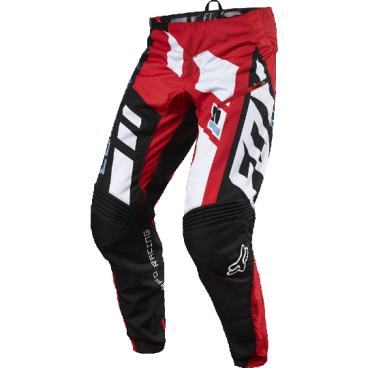 Велоштаны Fox Demo DH Divizion Pant, красные, полиэстрВелоштаны<br>Штаны в мотокроссовом стиле, выполненные из плотной и устойчивой к истиранию синтетической ткани. Благодаря особому покрою под названием RAP (Rider Attack Position), они идеально подойдут любителям даунхила и фрирайда. Вставки из эластичного сетчатого материала обеспечивают свободу движений и оптимальную вентиляцию.<br><br>ОСОБЕННОСТИ<br><br>Материал: полиэстер 600D<br><br>Особый покрой для оптимальной посадки на велосипеде<br><br>Вставки из эластичного сетчатого материала для большей свободы движений и оптимальной вентиляции<br><br>Подкладка из мягкой сетчатой ткани<br><br>Застёжка на молнии и регулируемой стропе<br><br>Оригинальная графика<br>