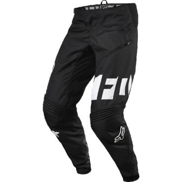 Велоштаны Fox Demo DH Pant, черно-белые, полиэстерВелоштаны<br>Штаны в мотокроссовом стиле, выполненные из плотной и устойчивой к истиранию синтетической ткани. Благодаря особому покрою под названием RAP (Rider Attack Position), они идеально подойдут любителям даунхила и фрирайда. Вставки из эластичного сетчатого материала обеспечивают свободу движений и оптимальную вентиляцию.<br><br>ОСОБЕННОСТИ<br><br>Материал: полиэстер 600D<br><br>Особый покрой для оптимальной посадки на велосипеде<br><br>Вставки из эластичного сетчатого материала для большей свободы движений и оптимальной вентиляции<br><br>Подкладка из мягкой сетчатой ткани<br><br>Застёжка на молнии и регулируемой стропе<br><br>Оригинальная графика<br><br>Замеры: <br><br>Ширина в поясе: 36 см.<br><br>Длина: 100 см.<br>