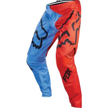 Велоштаны Fox Demo DH Pant, сине-красные, полиэстерВелоштаны<br>Штаны в мотокроссовом стиле, выполненные из плотной и устойчивой к истиранию синтетической ткани. Благодаря особому покрою под названием RAP (Rider Attack Position), они идеально подойдут любителям даунхила и фрирайда. Вставки из эластичного сетчатого материала обеспечивают свободу движений и оптимальную вентиляцию.<br><br>ОСОБЕННОСТИ<br><br>Материал: полиэстер 600D<br>Особый покрой для оптимальной посадки на велосипеде<br>Вставки из эластичного сетчатого материала для большей свободы движений и оптимальной вентиляции<br>Подкладка из мягкой сетчатой ткани<br>Застёжка на молнии и регулируемой стропе<br>Оригинальная графика<br>
