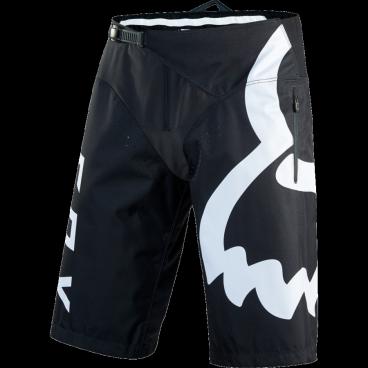 Велошорты Fox Demo Short Чёрный/белый, Размер: W32 (15939-018-32)Велошорты<br>Стильные и удобные шорты, выполненные из плотной и устойчивой к истиранию синтетической ткани. Благодаря особому покрою под названием RAP (Rider Attack Position), они идеально подойдут любителям даунхила и эндуро. Вставки из эластичного сетчатого материала обеспечивают свободу движений и оптимальную вентиляцию.<br><br><br><br>ОСОБЕННОСТИ<br><br><br><br>Материал: полиэстер 600D<br><br>Особый покрой для оптимальной посадки на велосипеде<br><br>Вставки из эластичного сетчатого материала для большей свободы движений и оптимальной вентиляции<br><br>Подкладка из мягкой сетчатой ткани<br><br>Застёжка на молнии и регулируемой стропе<br><br>Оригинальная графика<br>