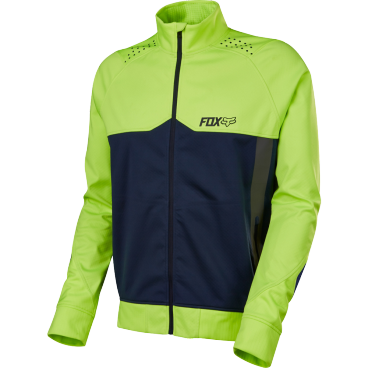 Велокуртка Fox Bionic LT Softshell Jacket, желтаяВелокуртка<br>Одежда Fox Tech – очередной результат постоянного стремления Fox к инновациям. Bionic LT – дышащая мембранная куртка, которая отлично подойдёт для катания в холодную погоду. Верхняя часть данной модели выполнена из трёхслойного эластичного материала, что обеспечивает отличную теплоизоляцию и максимальную свободу движений; внутренняя часть отделана флисом для дополнительной термоизоляции.<br><br>Характеристики:<br><br>Верхняя часть выполнена из трёхслойного эластичного материала, тянущегося в четырёх направлениях<br>Мембрана 10000/10000<br>Высокий воротник<br>Светоотражающие элементы сделают вас заметнее в тёмное время суток<br>Выход для наушников<br>
