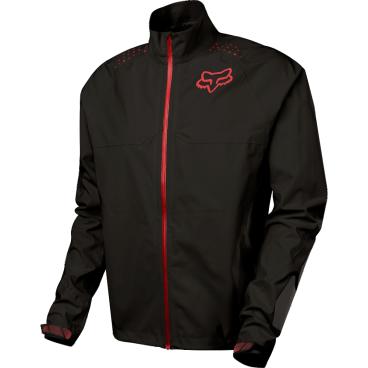 Велокуртка Fox Downpour LT Jacket, чернаяВелокуртка<br>Велокуртка Fox Downpour LT имеет прочную, легкую, водонепроницаемую и ветрозащитную ткань в 2,5 слоя, проклеенные швы и хорошо пропускает воздух. Это идеальный выбор для плохих погодных условий. <br><br>Особенности:<br>Прочная тянущаяся ткань 2,5 мм слоя<br>Водонепроницаемая/ветрозащитная мембрана TRUSEAL <br>Проклеенные швы<br>Износостойкая вставка из материала Cordura® на рукавах <br>Водонепроницаемые карманы на молнии<br>Светоотражающие детали в ключевых областях для видимости в тёмное время суток<br>Регулируемые манжеты с силиконовой застежкой<br>Регулируемый низ<br>DWR пропитка верхнего слоя<br>Материал: 100% полиэстер<br><br>Мембрана TRUSEAL: <br>Водонепроницаемая ткань предотвращает попадание воды на одежду, позволяя ткани дышать и отходить поту.<br>100% проклеенные швы<br>DWR пропитка верхнего слоя<br>Минимальная мембрана 10к/10к<br>