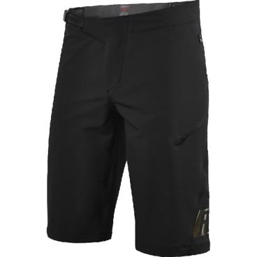 Велошорты Fox Demo Freeride Short, Размер: М (W32), черный, 16618-001-32Велошорты<br>Спортивные шорты от Fox Racing. Устойчивая к истиранию ткань, перфорированная лазером для улучшения вентиляции. Нижние манжеты надёжно прикрывают ноги и не мешают педалированию. Регулируемая передняя застёжка и боковые стяжки для идеальной подгонки. Карманы на молнии, выход для наушников. Свободный крой, гоночная расцветка.<br>