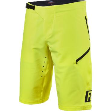 Велошорты Fox Demo Freeride Short, Размер: S (W30), желтый, 16618-130-30Велошорты<br>Спортивные шорты от Fox Racing. Устойчивая к истиранию ткань, перфорированная лазером для улучшения вентиляции. Нижние манжеты надёжно прикрывают ноги и не мешают педалированию. Регулируемая передняя застёжка и боковые стяжки для идеальной подгонки. Карманы на молнии, выход для наушников. Свободный крой, гоночная расцветка.<br>