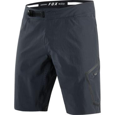 Велошорты Fox Indicator Pro Short, Размер: М (W32), черный, 17195-001-32Велошорты<br>Функциональные и технологичные шорты от Fox, которые не выглядят как специализированная велоформа. Модель выполнена из устойчивого к истиранию текстиля Stretch Cordura, а благодаря фирменной технологии TRUDRI от Fox этот материал быстро сохнет и эффективно отводит влагу от тела. Дополнительные особенности этих шорт – оригинальна регулируемая застёжка и лазерная перфорация для лучшей вентиляции.<br><br><br><br>ОСОБЕННОСТИ<br><br><br><br>Материал: Stretch Cordura<br><br>Технология TRUDRI<br><br>Удобная регулируемая застёжка<br><br>Лазерная перфорация для дополнительной вентиляции<br>
