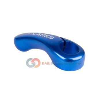 Рога для велосипеда CLARK`S алюм. короткие cb-02 мини слабоизогн. эргон. синие 3-321Ручки и Рога<br>NEW, мини, слабоизогнутые, короткие, эргономичные, синие, блистер<br>