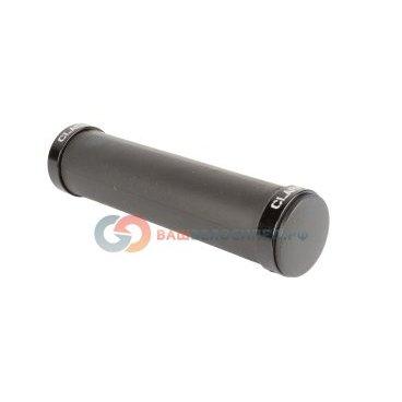Ручки на руль CLARK`S CS-001, силиконовые, антискользящие. с 2 фиксаторами. черные, 3-405Ручки и Рога<br>NEW, силиконовые, антискользящая поверхность, стойкие к воздействию ультрафиолета, легко моются, сохраняют свои свойства при низких и высоких температурах, 2 алюминиевых фиксатора, 130мм, черные<br>