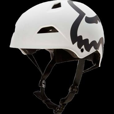 Велошлем Fox Flight Eyecon Hardshell Helmet, матовый белыйВелошлемы<br>Новый шлем для дёрт-джампинга и паркового катания от Fox – лёгкий, максимально удобный и обеспечивающий эффективную защиту. Основная особенность данной модели – мягкий внутренник M9, состоящий из девяти отдельных элементов – для большего комфорта и лучшей вентиляции. В конструкции шлема использован фирменный пеноматериал Varizorb и тонкий пластик ABS.<br><br><br><br>ОСОБЕННОСТИ<br><br><br><br>Новый шлем для дёрт-джампинга и паркового катания от Fox<br><br>Мягкий внутренник M9, состоящий из девяти отдельных элементов – для большего комфорта и лучшей вентиляции<br><br>Корпус выполнен из тонкого пластика ABS – для экономии веса<br><br>8 больших отверстий для вентиляции<br>