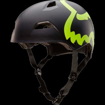 Велошлем Fox Flight Eyecon Hardshell Helmet Flow, черно - желтыйВелошлемы<br>Новый шлем для дёрт-джампинга и паркового катания от Fox – лёгкий, максимально удобный и обеспечивающий эффективную защиту. Основная особенность данной модели – мягкий внутренник M9, состоящий из девяти отдельных элементов – для большего комфорта и лучшей вентиляции. В конструкции шлема использован фирменный пеноматериал Varizorb и тонкий пластик ABS.<br><br><br><br>ОСОБЕННОСТИ<br><br><br><br>Новый шлем для дёрт-джампинга и паркового катания от Fox<br><br>Мягкий внутренник M9, состоящий из девяти отдельных элементов – для большего комфорта и лучшей вентиляции<br><br>Корпус выполнен из тонкого пластика ABS – для экономии веса<br><br>8 больших отверстий для вентиляции<br>