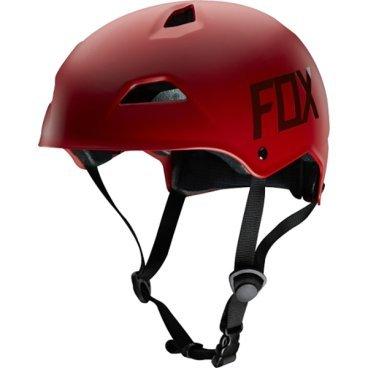 Велошлем Fox Flight Hardshell Helmet, матовый красныйВелошлемы<br>Новый шлем для дёрт-джампинга и паркового катания от Fox – лёгкий, максимально удобный и обеспечивающий эффективную защиту. Основная особенность данной модели – мягкий внутренник M9, состоящий из девяти отдельных элементов – для большего комфорта и лучшей вентиляции. В конструкции шлема использован фирменный пеноматериал Varizorb и тонкий пластик ABS.<br><br><br><br>ОСОБЕННОСТИ<br><br><br><br>Новый шлем для дёрт-джампинга и паркового катания от Fox<br><br>Мягкий внутренник M9, состоящий из девяти отдельных элементов – для большего комфорта и лучшей вентиляции<br><br>Корпус выполнен из тонкого пластика ABS – для экономии веса<br><br>8 больших отверстий для вентиляции<br>