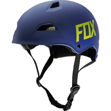Велошлем Fox Flight Hardshell Helmet, матовый синийВелошлемы<br>Новый шлем для дёрт-джампинга и паркового катания от Fox – лёгкий, максимально удобный и обеспечивающий эффективную защиту. Основная особенность данной модели – мягкий внутренник M9, состоящий из девяти отдельных элементов – для большего комфорта и лучшей вентиляции. В конструкции шлема использован фирменный пеноматериал Varizorb и тонкий пластик ABS.<br><br><br><br>ОСОБЕННОСТИ<br><br><br><br>Новый шлем для дёрт-джампинга и паркового катания от Fox<br><br>Мягкий внутренник M9, состоящий из девяти отдельных элементов – для большего комфорта и лучшей вентиляции<br><br>Корпус выполнен из тонкого пластика ABS – для экономии веса<br><br>8 больших отверстий для вентиляции<br>