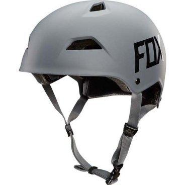 Велошлем Fox Flight Hardshell Helmet, серыйВелошлемы<br>Новый шлем для дёрт-джампинга и паркового катания от Fox – лёгкий, максимально удобный и обеспечивающий эффективную защиту. Основная особенность данной модели – мягкий внутренник M9, состоящий из девяти отдельных элементов – для большего комфорта и лучшей вентиляции. В конструкции шлема использован фирменный пеноматериал Varizorb и тонкий пластик ABS.<br><br><br><br>ОСОБЕННОСТИ<br><br><br><br>Новый шлем для дёрт-джампинга и паркового катания от Fox<br><br>Мягкий внутренник M9, состоящий из девяти отдельных элементов – для большего комфорта и лучшей вентиляции<br><br>Корпус выполнен из тонкого пластика ABS – для экономии веса<br><br>8 больших отверстий для вентиляции<br>