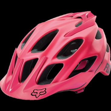 Велошлем Fox Flux Solids Helmet, розовыйВелошлемы<br>Лёгкий шлем для трейлрайдинга и катания в стиле ол-маунтин. Шлем хорошо сидит на голове и отлично вентилируется – вероятно, во время катания вы и вовсе забудете, что надели его. Корпус  данной модели изготовлен из ударопрочного композита, а затылочная часть увеличена для дополнительной безопасности. В 2016 году шлемы Flux стали ещё лучше благодаря новой системе застёжек, которая позволяет точнее подогнать шлем по голове.<br><br><br><br>ОСОБЕННОСТИ<br><br><br><br>Увеличенная затылочная часть<br><br>20 больших отверстий для вентиляции<br><br>Фирменная система фиксации Detox, позволяющая идеально подогнать шлем по голове<br><br>Соответствует требованиям таких стандартов безопасности, как CPSC, CE, EN 1078 и AS/NZS 2063<br>
