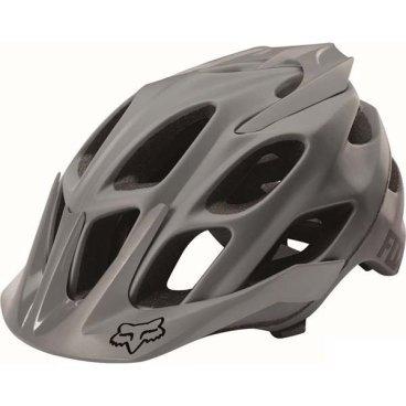 Велошлем Fox Flux Solids Helmet, серыйВелошлемы<br>Лёгкий шлем для трейлрайдинга и катания в стиле ол-маунтин. Шлем хорошо сидит на голове и отлично вентилируется – вероятно, во время катания вы и вовсе забудете, что надели его. Корпус  данной модели изготовлен из ударопрочного композита, а затылочная часть увеличена для дополнительной безопасности. В 2016 году шлемы Flux стали ещё лучше благодаря новой системе застёжек, которая позволяет точнее подогнать шлем по голове.<br><br><br><br>ОСОБЕННОСТИ<br><br><br><br>Увеличенная затылочная часть<br><br>20 больших отверстий для вентиляции<br><br>Фирменная система фиксации Detox, позволяющая идеально подогнать шлем по голове<br><br>Соответствует требованиям таких стандартов безопасности, как CPSC, CE, EN 1078 и AS/NZS 2063<br>