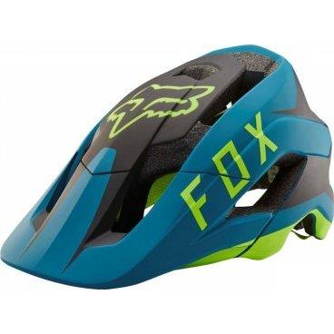 Велошлем Fox Metah Flow Helmet Teal, сине-черныйВелошлемы<br>Велосипедный шлем Fox Methah – один из первых шлемов, созданных специально для трейлрайдинга. Полностью новая модель под названием FOX Metah, которая обеспечивает ещё более эффективную защиту и лучшую вентиляцию, а также отличается сверхмалым весом.<br>Пожалуй, это идеальный шлем для катания по любым трейлам.<br><br>Дополнительная защита затылочной части головы<br>10 больших отверстий для вентиляции<br>Фирменная система смягчения ударов Varizorb<br>Высококачественный мягкий внутренник очень удобен и быстро сохнет<br>Застёжка с удобным регулятором в виде небольшого диска<br>