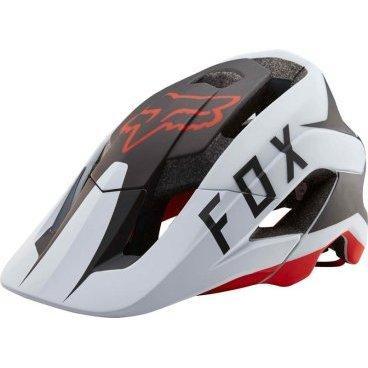 Велошлем Fox Metah Flow Helmet, бело-черно-красныйВелошлемы<br>Велосипедный шлем Fox Methah – один из первых шлемов, созданных специально для трейлрайдинга. Полностью новая модель под названием FOX Metah, которая обеспечивает ещё более эффективную защиту и лучшую вентиляцию, а также отличается сверхмалым весом.<br>Пожалуй, это идеальный шлем для катания по любым трейлам.<br><br>Дополнительная защита затылочной части головы<br>10 больших отверстий для вентиляции<br>Фирменная система смягчения ударов Varizorb<br>Высококачественный мягкий внутренник очень удобен и быстро сохнет<br>Застёжка с удобным регулятором в виде небольшого диска<br>
