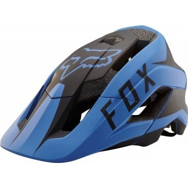 Велошлем Fox Metah Flow Helmet, сине-черныйВелошлемы<br>Велосипедный шлем Fox Methah – один из первых шлемов, созданных специально для трейлрайдинга. Полностью новая модель под названием FOX Metah, которая обеспечивает ещё более эффективную защиту и лучшую вентиляцию, а также отличается сверхмалым весом.<br>Пожалуй, это идеальный шлем для катания по любым трейлам.<br><br>Дополнительная защита затылочной части головы<br>10 больших отверстий для вентиляции<br>Фирменная система смягчения ударов Varizorb<br>Высококачественный мягкий внутренник очень удобен и быстро сохнет<br>Застёжка с удобным регулятором в виде небольшого диска<br>