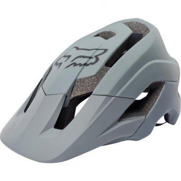 Велошлем Fox Metah Solids Helmet, серыйВелошлемы<br>В 2006 году свет увидел шлем Fox Flux – один из первых шлемов, созданных специально для трейлрайдинга. И вот, десять лет спустя Fox выпускает полностью новую модель под названием Metah, которая обеспечивает ещё более эффективную защиту и лучшую вентиляцию, а также отличается сверхмалым весом. Пожалуй, это идеальный шлем для катания по любым трейлам.<br><br>ОСОБЕННОСТИ<br><br>Дополнительная защита затылочной части головы<br>10 больших отверстий для вентиляции<br>Фирменная система смягчения ударов Varizorb<br>Высококачественный мягкий внутренник очень удобен и быстро сохнет<br>Застёжка с удобным регулятором в виде небольшого диска<br>