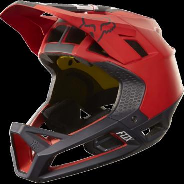 Велошлем Fox Proframe Libra Helmet, красно-черныйВелошлемы<br>Proframe – самый лёгкий и вентилируемый шлем типа «фулл-фейс» от Fox,созданный для гонщиков эндуро и любителей агрессивного трейлрайдинга. Он вентилируется почти так же, как открытые шлемы, но при этом подходит даже для даунхила, что подтверждает соответствующий сертификат. Это действительно универсальный шлем, в котором вы сможете уверенно ездить где угодно. Proframe обеспечивает райдеру защитные свойства полноценного даунхильного шлема при сверхмалом весе – это стало возможно благодаря использованию патентованной интегрированной защиты челюсти. Благодаря 24 широким отверстиям для вентиляции этот шлем проветривается почти так же, как модели открытого типа – в нём вы не перегреетесь даже на самых трудных и затяжных подъёмах. А на спуске он придаст вам дополнительную уверенность, чтобы смело проезжать самые жёсткие и техничные участки.<br><br>ОСОБЕННОСТИ<br><br>Самый лёгкий фулл-фейс от Fox: Proframe весит всего 750 граммов (в размере M)<br>Отвечает требованиям таких стандартов безопасноти, как ASTM F1952, EN 1078, AS/NZ 2063 и CPSC<br>Интегрированная защита челюсти соединяется с корпусом шлема при помощи особой патентованной системы<br>Мягкий внутренник шлема хорошо дышит, эффективно отводит влагу от головы и обладает антимикробными свойствами<br>Благодаря 24 широким отверстиям для вентиляции Proframe – один из самых лёгких и вентилируемых шлемов, пригодных для даунхила<br>Фиксированный козырёк расположен таким образом, чтобы обеспечить максимальный приток воздуха к отверстиям для вентиляции<br>Застёжка Fidlock очень надёжна, при этом она моментально открывается и закрывается<br>Проверенная временем система MIPS (Multi-directional Impact Protection System)обеспечивает эффективную защиту при косых ударах и резких вращениях головы<br>Пеноматериал Varizorb дополнительно улучшает защитные свойства шлема<br>