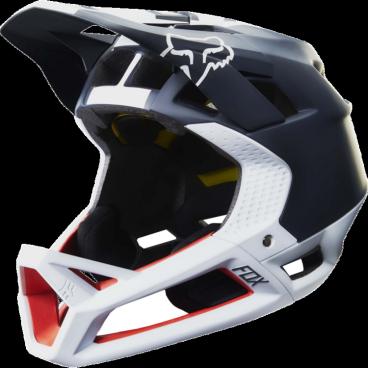 Велошлем Fox Proframe Libra Helmet, черно-белыйВелошлемы<br>Proframe – самый лёгкий и вентилируемый шлем типа «фулл-фейс» от Fox,созданный для гонщиков эндуро и любителей агрессивного трейлрайдинга. Он вентилируется почти так же, как открытые шлемы, но при этом подходит даже для даунхила, что подтверждает соответствующий сертификат. Это действительно универсальный шлем, в котором вы сможете уверенно ездить где угодно. Proframe обеспечивает райдеру защитные свойства полноценного даунхильного шлема при сверхмалом весе – это стало возможно благодаря использованию патентованной интегрированной защиты челюсти. Благодаря 24 широким отверстиям для вентиляции этот шлем проветривается почти так же, как модели открытого типа – в нём вы не перегреетесь даже на самых трудных и затяжных подъёмах. А на спуске он придаст вам дополнительную уверенность, чтобы смело проезжать самые жёсткие и техничные участки.<br><br>ОСОБЕННОСТИ<br><br>Самый лёгкий фулл-фейс от Fox: Proframe весит всего 750 граммов (в размере M)<br>Отвечает требованиям таких стандартов безопасноти, как ASTM F1952, EN 1078, AS/NZ 2063 и CPSC<br>Интегрированная защита челюсти соединяется с корпусом шлема при помощи особой патентованной системы<br>Мягкий внутренник шлема хорошо дышит, эффективно отводит влагу от головы и обладает антимикробными свойствами<br>Благодаря 24 широким отверстиям для вентиляции Proframe – один из самых лёгких и вентилируемых шлемов, пригодных для даунхила<br>Фиксированный козырёк расположен таким образом, чтобы обеспечить максимальный приток воздуха к отверстиям для вентиляции<br>Застёжка Fidlock очень надёжна, при этом она моментально открывается и закрывается<br>Проверенная временем система MIPS (Multi-directional Impact Protection System)обеспечивает эффективную защиту при косых ударах и резких вращениях головы<br>Пеноматериал Varizorb дополнительно улучшает защитные свойства шлема<br>