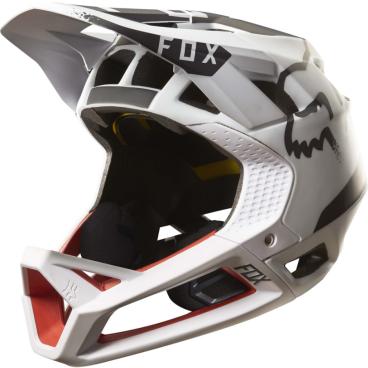 Велошлем Fox Proframe Moth Helmet, бело-черно-красныйВелошлемы<br>Proframe – самый лёгкий и вентилируемый шлем типа «фулл-фейс» от Fox,созданный для гонщиков эндуро и любителей агрессивного трейлрайдинга. Он вентилируется почти так же, как открытые шлемы, но при этом подходит даже для даунхила, что подтверждает соответствующий сертификат. Это действительно универсальный шлем, в котором вы сможете уверенно ездить где угодно. Proframe обеспечивает райдеру защитные свойства полноценного даунхильного шлема при сверхмалом весе – это стало возможно благодаря использованию патентованной интегрированной защиты челюсти. Благодаря 24 широким отверстиям для вентиляции этот шлем проветривается почти так же, как модели открытого типа – в нём вы не перегреетесь даже на самых трудных и затяжных подъёмах. А на спуске он придаст вам дополнительную уверенность, чтобы смело проезжать самые жёсткие и техничные участки.<br><br><br><br>ОСОБЕННОСТИ<br><br><br><br>Самый лёгкий фулл-фейс от Fox: Proframe весит всего 750 граммов (в размере M)<br><br>Отвечает требованиям таких стандартов безопасноти, как ASTM F1952, EN 1078, AS/NZ 2063 и CPSC<br><br>Интегрированная защита челюсти соединяется с корпусом шлема при помощи особой патентованной системы<br><br>Мягкий внутренник шлема хорошо дышит, эффективно отводит влагу от головы и обладает антимикробными свойствами<br><br>Благодаря 24 широким отверстиям для вентиляции Proframe – один из самых лёгких и вентилируемых шлемов, пригодных для даунхила<br><br>Фиксированный козырёк расположен таким образом, чтобы обеспечить максимальный приток воздуха к отверстиям для вентиляции<br><br>Застёжка Fidlock очень надёжна, при этом она моментально открывается и закрывается<br><br>Проверенная временем система MIPS (Multi-directional Impact Protection System)обеспечивает эффективную защиту при косых ударах и резких вращениях головы<br><br>Пеноматериал Varizorb дополнительно улучшает защитные свойства шлема<br>