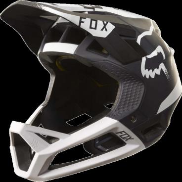 Велошлем Fox Proframe Moth Helmet, черно-белыйВелошлемы<br>Proframe – самый лёгкий и вентилируемый шлем типа «фулл-фейс» от Fox,созданный для гонщиков эндуро и любителей агрессивного трейлрайдинга. Он вентилируется почти так же, как открытые шлемы, но при этом подходит даже для даунхила, что подтверждает соответствующий сертификат. Это действительно универсальный шлем, в котором вы сможете уверенно ездить где угодно. Proframe обеспечивает райдеру защитные свойства полноценного даунхильного шлема при сверхмалом весе – это стало возможно благодаря использованию патентованной интегрированной защиты челюсти. Благодаря 24 широким отверстиям для вентиляции этот шлем проветривается почти так же, как модели открытого типа – в нём вы не перегреетесь даже на самых трудных и затяжных подъёмах. А на спуске он придаст вам дополнительную уверенность, чтобы смело проезжать самые жёсткие и техничные участки.<br><br><br><br>ОСОБЕННОСТИ<br><br><br><br>Самый лёгкий фулл-фейс от Fox: Proframe весит всего 750 граммов (в размере M)<br><br>Отвечает требованиям таких стандартов безопасноти, как ASTM F1952, EN 1078, AS/NZ 2063 и CPSC<br><br>Интегрированная защита челюсти соединяется с корпусом шлема при помощи особой патентованной системы<br><br>Мягкий внутренник шлема хорошо дышит, эффективно отводит влагу от головы и обладает антимикробными свойствами<br><br>Благодаря 24 широким отверстиям для вентиляции Proframe – один из самых лёгких и вентилируемых шлемов, пригодных для даунхила<br><br>Фиксированный козырёк расположен таким образом, чтобы обеспечить максимальный приток воздуха к отверстиям для вентиляции<br><br>Застёжка Fidlock очень надёжна, при этом она моментально открывается и закрывается<br><br>Проверенная временем система MIPS (Multi-directional Impact Protection System)обеспечивает эффективную защиту при косых ударах и резких вращениях головы<br><br>Пеноматериал Varizorb дополнительно улучшает защитные свойства шлема<br>