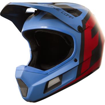 Велошлем Fox Rampage Comp Creo Helmet, сине-красныйВелошлемы<br>Rampage Comp – отличный выбор для тех, кто ищет современный и технологичный фулл-фейс, но не готов отдавать баснословные суммы за карбоновые шлемы. Корпус данной модели выполнен из стекловолокна; одиннадцать больших отверстий для вентиляции обеспечивают оптимальную циркуляцию воздуха вокруг головы, а специальные усиления в области челюсти – большую жёсткость конструкции и, как следствие – более эффективную защиту. Кроме того, одна из ключевых особенностей данного шлема – наличие воздуховодных каналов внутри пенопластовой прослойки, что, разумеется, дополнительно улучшает вентиляцию. Корпус Rampage Comp выпускается в двух размерах, а пенопластовый внутренник – в трёх, таким образом, подобрать оптимальный для вас размер шлема не составит труда. И сидеть шлем будет не менее удобно, чем дорогие карбоновые модели.<br><br>ОСОБЕННОСТИ<br><br>Материал корпуса: стекловолокно<br>Дополнительные рёбра жёсткости в области челюсти<br>11 отверстий для вентиляции<br>Специальные воздуховодные каналы внутри пенопластовой прослойки<br>
