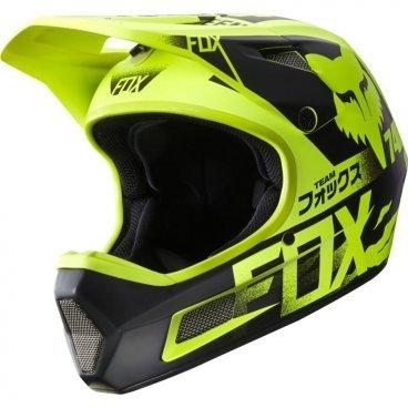 Велошлем Fox Rampage Comp Helmet Flow, желтыйВелошлемы<br>Rampage Comp – отличный выбор для тех, кто ищет современный и технологичный фулл-фейс, но не готов отдавать пятизначные суммы за карбоновые шлемы. Корпус данной модели выполнен из стекловолокна; одиннадцать больших отверстий для вентиляции обеспечивают оптимальную циркуляцию воздуха вокруг головы, а специальные усиления в области челюсти – большую жёсткость конструкции и, как следствие – более эффективную защиту. Кроме того, одна из ключевых особенностей данного шлема – наличие воздуховодных каналов внутри пенопластовой прослойки, что, разумеется, дополнительно улучшает вентиляцию. Корпус Rampage Comp выпускается в двух размерах, а пенопластовый внутренник – в трёх, таким образом, подобрать оптимальный для вас размер шлема не составит труда. И сидеть шлем будет не менее удобно, чем дорогие карбоновые модели.<br><br>ОСОБЕННОСТИ<br><br>Корпус из стекловолокна<br>11 больших отверстий для вентиляции<br>Специальные воздуховодные каналы внутри пенопластовой прослойки<br>Челюстная часть усилена рёбрами жёсткости<br>Корпус выпускается в двух размерах, а пенопластовый внутренний – в трёх, что облегчает подбор размера шлема<br>Соответствует требованиям стандарта безопасности EN1078:2012<br>