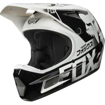 Велошлем Fox Rampage Comp Helmet, белыйВелошлемы<br>Rampage Comp – отличный выбор для тех, кто ищет современный и технологичный фулл-фейс, но не готов отдавать пятизначные суммы за карбоновые шлемы. Корпус данной модели выполнен из стекловолокна; одиннадцать больших отверстий для вентиляции обеспечивают оптимальную циркуляцию воздуха вокруг головы, а специальные усиления в области челюсти – большую жёсткость конструкции и, как следствие – более эффективную защиту. Кроме того, одна из ключевых особенностей данного шлема – наличие воздуховодных каналов внутри пенопластовой прослойки, что, разумеется, дополнительно улучшает вентиляцию. Корпус Rampage Comp выпускается в двух размерах, а пенопластовый внутренник – в трёх, таким образом, подобрать оптимальный для вас размер шлема не составит труда. И сидеть шлем будет не менее удобно, чем дорогие карбоновые модели.<br><br>ОСОБЕННОСТИ<br><br>Корпус из стекловолокна<br>11 больших отверстий для вентиляции<br>Специальные воздуховодные каналы внутри пенопластовой прослойки<br>Челюстная часть усилена рёбрами жёсткости<br>Корпус выпускается в двух размерах, а пенопластовый внутренний – в трёх, что облегчает подбор размера шлема<br>Соответствует требованиям стандарта безопасности EN1078:2012<br>