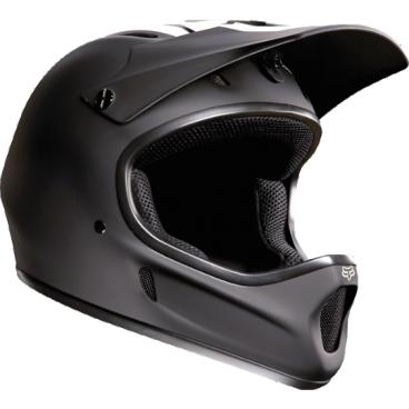 Велошлем Fox Rampage Helmet, матовый черныйВелошлемы<br>Самый популярный и бюджетный фулл-фейс от Fox – идеальный выбор для начинающих даунхильщиков и фрирайдеров, а также для любителей сэкономить. Как бы то ни было, при своей невысокой цене и малом весе этот шлем обеспечивает более чем эффективную защиту. Корпус шлема выполнен из высококачественного стеклопластика, а мягкий внутренник легко отстегнуть для чистки и стирки.<br><br><br><br>ОСОБЕННОСТИ<br><br><br><br>Материал корпуса: стеклопластик<br><br>Внутренний легко отстегнуть для чистки и стирки<br>
