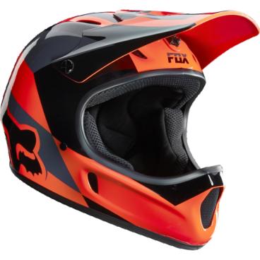 Велошлем Fox Rampage Mako Helmet, оранжевыйВелошлемы<br>Самый популярный и бюджетный фулл-фейс от Fox – идеальный выбор для начинающих даунхильщиков и фрирайдеров, а также для любителей сэкономить. Как бы то ни было, при своей невысокой цене и малом весе этот шлем обеспечивает более чем эффективную защиту. Корпус шлема выполнен из высококачественного стеклопластика, а мягкий внутренник легко отстегнуть для чистки и стирки.<br><br><br><br>ОСОБЕННОСТИ<br><br><br><br>Материал корпуса: стеклопластик<br><br>Внутренний легко отстегнуть для чистки и стирки<br>
