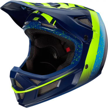 Велошлем Fox Rampage Pro Carbon Kroma Helmet NavyВелошлемы<br>Rampage Pro Carbon – без сомнения, один из лучших велосипедных шлемов для даунхила и фрирайда. Карбоновая внешняя часть выпускается в двух размерах, а внутренник из специального пенопласта – в трёх, так что вы легко подберёте шлем, который идеально подойдёт именно вам. Ключевая особенность данной модели – дополнительная система защиты под названием MIPS (Multi-directional Impact Protection System), основанная на той же идее, что и данная нам природой естественная защита мозга. . Внутренник шлема не просто крепится к жёсткой оболочке, а скользит относительно неё благодаря тонкой прослойке из специального материала, позволяя существенно снизить риск мозговых травм, случающихся при косых ударах по шлему и при резких вращениях головы. Семнадцать отверстий для вентиляции обеспечивают более чем оптимальную циркуляцию воздуха во время езды, а мягкая подкладка из материала Dri-Lex эффективно отводит влагу от кожи. Шлем прошёл множество испытаний на самых серьёзных соревнованиях и показал себя наилучшим образом.<br><br>Особенности:<br><br>- Материал внешней части: углеволокно<br>- MIPS – дополнительная система защиты, позволяющая существенно снизить риск мозговых травм, случающихся при косых ударах по шлему и при резких вращениях головы<br>- 17 отверстий для вентиляции<br>- Мягкая быстросохнущая подкладка из материала Dri-Lex<br>
