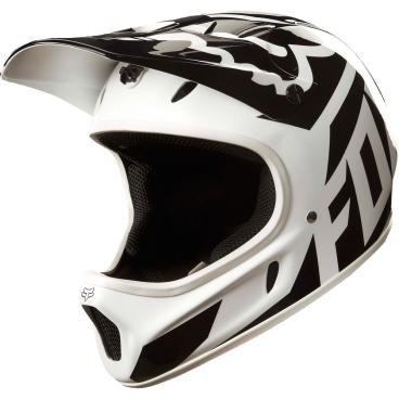 Велошлем Fox Rampage Race Helmet, бело-черныйВелошлемы<br>Бюджетная версия шлема Rampage, пользующаяся заслуженной популярностью, теперь выпускается в новых расцветках. Корпус данной модели выполнен из стекловолокна, внутренник легко отстегнуть для стирки или чистки. Шлем стильно выглядит, мало весит, хорошо вентилируется и обеспечивает эффективную защиту.<br><br>ОСОБЕННОСТИ<br><br>Материал корпуса: стекловолокно<br>Пристежной внутренник из гипоаллергенного материала<br>Съёмный козырёк<br>Оригинальная графика<br>