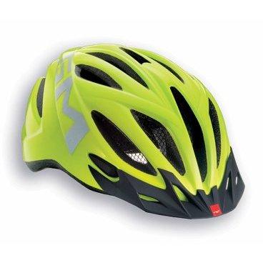 Велошлем MET 20 Miles High Visibility, желтыйВелошлемы<br>Легкий и яркий шлем Met 20 Miles High Visibility отлично подойдет для городского катания. Он оснащен задним красным фонариком, светоотражающими полосками, москитной сеткой, съемным козырьком.<br><br><br>Характеристики:<br><br>- Москитная сетка<br>- Съемный козырек<br>- Задний габаритный фонарик <br>- Светоотражающий логотип<br>- Цвет: желтый<br>   Размер: М<br>