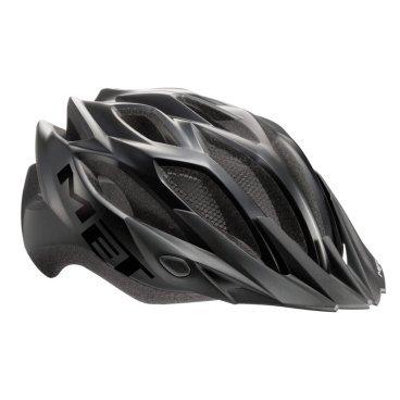 Велошлем MET Crossover, матовый черныйВелошлемы<br>Лёгкий универсальный шлем, который отлично подойдёт для использования в условиях города – этому способствует его низкий вес, оптимальная вентилируемость и встроенный светодиодный фонарь. Шлем можно использовать как с козырьком, так и без него.<br><br><br><br>ОСОБЕННОСТИ<br><br><br><br>Универсальная модель, оптимальная для использования в условиях города<br><br>Встроенный светодиодный фонарь<br><br>Сменные внутренние накладки из гипоаллергенного материала<br><br>Цвет: матово-чёрный<br>