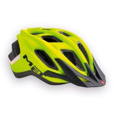 Велошлем MET Funandgo, матовый желто-черныйВелошлемы<br>Лёгкий универсальный шлем от Met, достаточно безопасный для серьёзных занятий спортом и достаточно удобный для того, чтобы вы забыли о нём во время езды. Его основные особенности – увеличенная затылочная часть, удобная регулируемая застёжка из лёгкого текстиля, впаянный в жёсткий корпус пенопластовый внутренник, обеспечивающий лучшую абсорбацию ударов, и съёмный козырёк, защищающий глаза от солнца и ветвей деревьев. <br><br>ОСОБЕННОСТИ<br><br><br><br>Максимально лёгкий и технологичный универсальный шлем<br><br>Монолитная конструкция – пенопластовый внутренник впаян в жёсткий корпус шлема<br><br>Съёмный козырёк<br><br>Отверстия для вентиляции закрыты москитной сеткой<br><br>Сменные внутренние накладки из гипоаллергенного материала<br><br>Светоотражающие наклейки<br><br><br>Вес: 320 граммов<br>