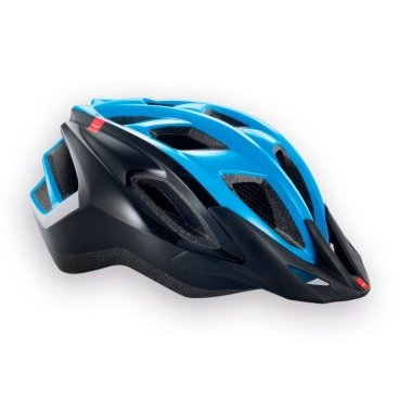 Велошлем MET Funandgo, сине-черныйВелошлемы<br>Лёгкий универсальный шлем от Met, достаточно безопасный для серьёзных занятий спортом и достаточно удобный для того, чтобы вы забыли о нём во время езды. Его основные особенности – увеличенная затылочная часть, удобная регулируемая застёжка из лёгкого текстиля, впаянный в жёсткий корпус пенопластовый внутренник, обеспечивающий лучшую абсорбацию ударов, и съёмный козырёк, защищающий глаза от солнца и ветвей деревьев. <br><br><br>ОСОБЕННОСТИ<br><br><br><br>Максимально лёгкий и технологичный универсальный шлем<br><br>Монолитная конструкция – пенопластовый внутренник впаян в жёсткий корпус шлема<br><br>Съёмный козырёк<br><br>Отверстия для вентиляции закрыты москитной сеткой<br><br>Сменные внутренние накладки из гипоаллергенного материала<br><br>Светоотражающие наклейки<br>