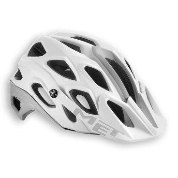 Велошлем MET Lupo, белыйВелошлемы<br>Новый шлем от Met, разработанный для трейлрайдинга и катания в стиле ол-маунтин. Этот шлем эффективно защищает затылочную и боковые части головы, и, кроме того, он превосходно вентилируется. А кевларовые стропы и гипоаллергенная гелевая вставка в передней части шлема обеспечивают дополнительную надёжность и комфорт.<br><br><br><br>ОСОБЕННОСТИ<br><br>Лёгкий и надёжный шлем для трейлрайдинга и катания в стиле ол-маунтин<br>Съёмный регулируемый козырёк<br>Кевларовые стропы застёжек<br>Гипоаллергенная гелевая вставка в передней части<br>Хорошо совместим как с классическими очками, так и с масками на резинке<br>