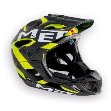 Велошлем MET Parachute Fluo, желто-черныйВелошлемы<br>Met Parachute - самый лёгкий фулл-фейс в мире, предназначенный для эндуро. Он обеспечивает более чем оптимальную вентиляцию головы и, разумеется, защиту, достаточную даже для даунхила. Пенопластовый внутренник шлема впаян в жёсткий корпус – таким образом, шлем представляет собой монолитную конструкцию, и энергия удара эффективнее распределяется между двумя оболочками. Шлем соответствует требованиям стандарта безопасности American ASTM F 1952 – собственно, это единственный существующий стандарт для велосипедных шлемов типа фулл-фейс. Кроме того, данная модель не ограничивает слышимость – вы будете отчётливо слышать окружающие вас звуки.<br><br><br><br>ОСОБЕННОСТИ<br><br><br><br>Самый лёгкий фулл-фейс в мире<br><br>Монолитная конструкция – пенопластовый внутренник впаян в жёсткий корпус шлема<br><br>Не ограничивает слышимость<br><br>Несъёмная защита челюсти<br><br>Специальные пазы для резинки маски<br><br>Сменные внутренние накладки из гипоаллергенного материала<br><br>Отверстия в козырьке для дополнительной вентиляции<br><br>Съёмный крепёж для камеры типа GoPro<br><br>Вес: 700-740 граммов (в зависимости от размера)<br>