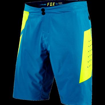 Велошорты Fox Livewire Short, Размер: М (W32), синий, 18710-176-32Велошорты<br>Традиционные облегающие шорты для кросс-кантри и трейлрайдинга. Модель выполнена из мягкой эластичной ткани, тянущейся в четырёх направлениях.<br><br><br><br><br><br>ОСОБЕННОСТИ<br><br><br><br><br><br>Материал: полиэстер/спандекс<br><br><br>Пристежная подкладка<br><br><br>Регулируемый потайной пояс<br><br><br>Карманы на молниях<br><br><br>Оригинальная графика<br><br><br>Выход для наушников<br>