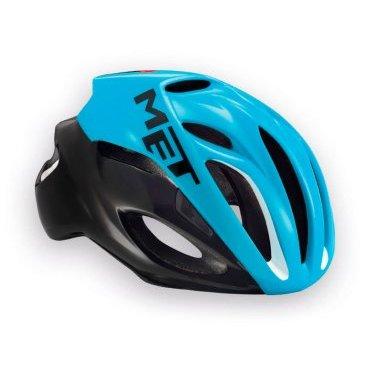 Велошлем MET Rivale, черно-голубойВелошлемы<br>Rivale - лёгкий и современный шлем от Met, который отлично показал себя при испытаниях в аэродинамической трубе. Особая форма этого шлема позволяет гонщику экономить до 3 ватт мощности при скорости в 50 км/ч (по сравнению с аналогичными моделями), что действительно немало. Заметим также, что при этом Rivale стильно выглядит и отлично вентилируется. Оптимальный выбор для тех, кто серьёзно относится к соревнованиям и стремится показывать наилучшие результаты.<br><br><br><br>ОСОБЕННОСТИ<br><br><br><br>Монолитная конструкция – пенопластовый внутренник впаян в жёсткий корпус шлема<br><br>Большие отверстия для вентиляции<br><br>Сменные внутренние накладки из гипоаллергенного материала<br><br>Фирменная система застёжек под названием Safe-T Advanced<br><br>Стропы застёжек выполнены из сверхлёгкого текстиля<br><br>Светоотражающая наклейка сделает вас заметнее в тёмное время суток<br><br>Отвечает требованиям таких стандартов безопасности, как CE, AS и CPSC<br><br>Вес 230 гр.<br>