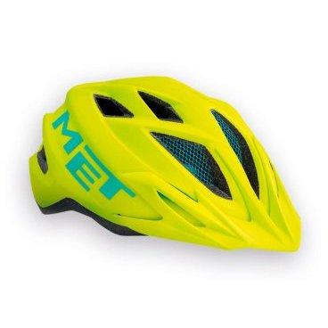 Велошлем подростковый MET Crackerjack, салатовыйВелошлемы<br>Подростковые шлемы Met соответствуют тем же стандартам качества, которые производитель применяет для взрослых моделей, а кроме того, разработчики стараются не обойти вниманием отношение детей к своему внешнему виду и ношению защиты в целом. С точки зрения функциональности, Crackerjack ни в чём не уступает стандартным кросскантрийным шлемам от Met. Его пенопластовый внутренник впаян в жёсткий корпус – таким образом, шлем представляет собой монолитную конструкцию и обеспечивает лучшую абсорбацию ударов. Сменные внутренние накладки изготовлены из мягкого гипоаллергенного материала, а стропы застёжек – из сверхлёгкого текстиля. Благодаря встроенному светодиодному фонарю езда в тёмное время суток станет ещё безопаснее. Важная особенность шлема, которая, определённо, порадует родителей – это его регулируемый размер – от 52 до 57см.<br><br><br><br>ОСОБЕННОСТИ<br><br><br><br>Максимально лёгкий и технологичный подростковый шлем<br><br>Монолитная конструкция – пенопластовый внутренник впаян в жёсткий корпус шлема<br><br>Сменные внутренние накладки из гипоаллергенного материала<br><br>Вставки из москитной сетки в вентиляционных отверстиях<br><br>Встроенный светодиодный фонарь<br><br>Удобная система регулировки размера – от 52 до 57см<br><br>Вес: 265 граммов<br>