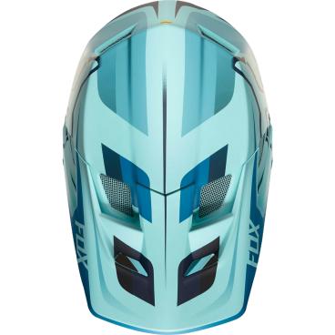 Козырек к шлему Fox Rampage Pro Carbon-Seca Visor, синий, пластик, 20301-231-OSВелошлемы<br>Оригинальный козырёк для шлема Rampage Pro Carbon Seca. Изготовлен из ударопрочного пластика.<br>