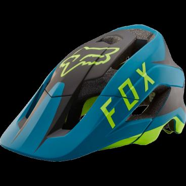 Козырек к шлему Fox Metah Flow Visor Teal, синий, пластик, 20307-176-OSВелошлемы<br>Оригинальный козырёк для шлема Metah Flow. Изготовлен из ударопрочного пластика.<br>