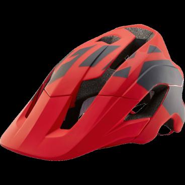 Козырек к шлему Fox Metah Thresh Visor, красно-черный, пластик, 20308-055-OSВелошлемы<br>Оригинальный козырёк для шлема Metah Thresh. Изготовлен из ударопрочного пластика.<br>