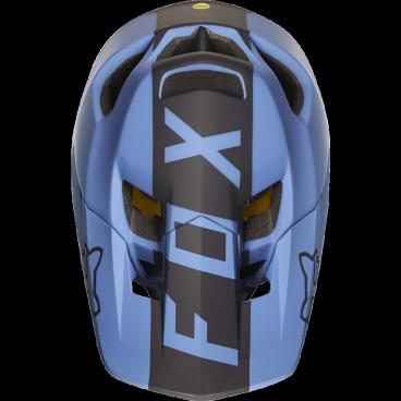 Козырек к шлему Fox Proframe Libra Visor, сине-черный, 20306-023-OSВелошлемы<br>Оригинальный козырёк для шлема Proframe Libra. Изготовлен из ударопрочного пластика.<br>