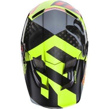 Козырек к шлему Fox Rampage Pro Carbon Visor, серый, пластик, 04119-006-OSВелошлемы<br>Оригинальный козырёк для шлема Rampage Pro Carbon. Изготовлен из высокопрочного пластика.<br>